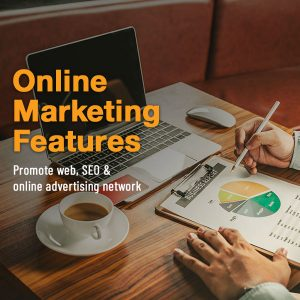 Online Marketing Features